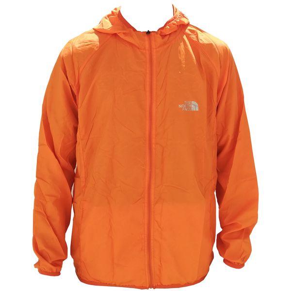 کاپشن ورزشی مردانه نورث فیس مدل 002 رنگ نارنجی