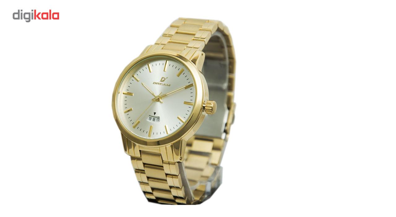 خرید ساعت مچی عقربه ای مردانه دریم مدل 1237G-1