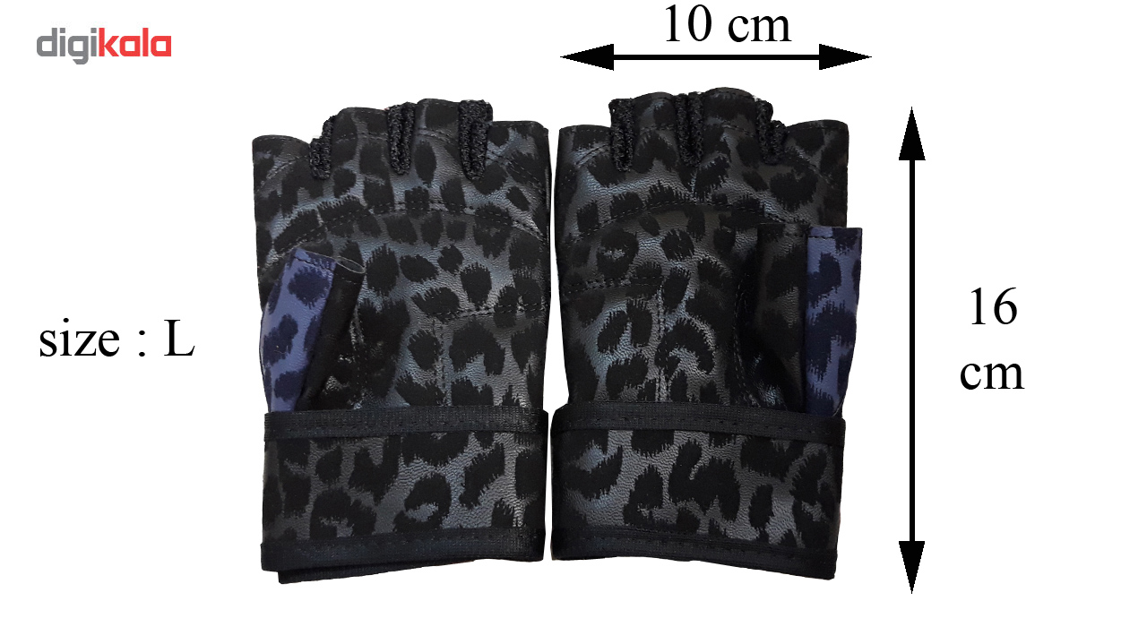 دستکش بدنسازی زنانه مدل اسپرت360