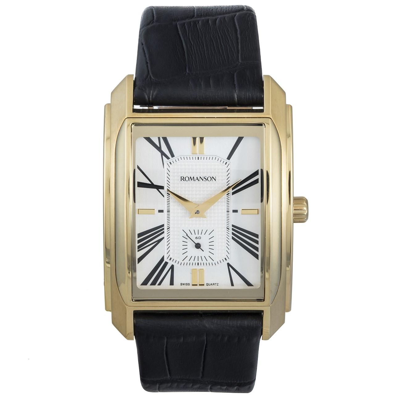 ساعت مچی عقربه ای مردانه رومانسون مدل TL2629JM1GAS1G 52