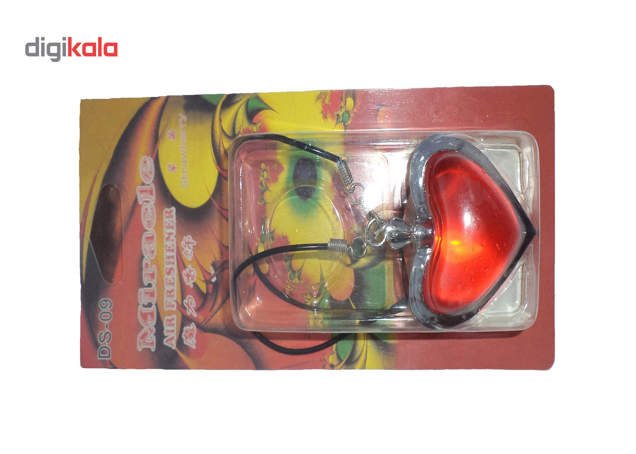 خوشبو کننده خودرو میراکل طرح قلب مدل DS-09 main 1 2