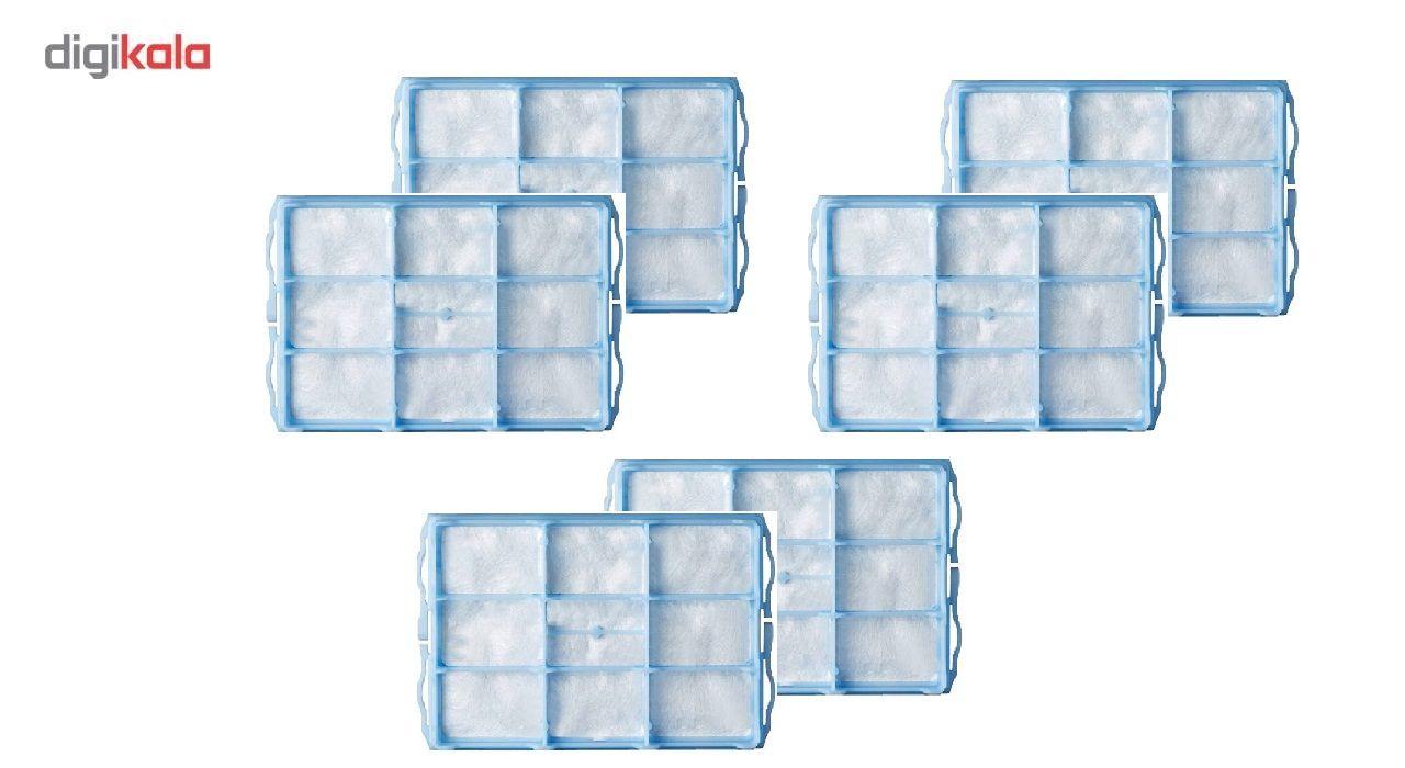 فیلتر هوا مناسب برای جاروبرقی بوش و زیمنس مدل F06 بسته 6 عددی main 1 1