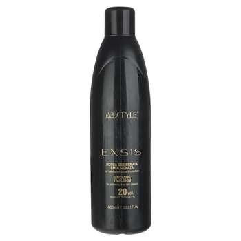 اکسیدان ای بی استایل برای رنگ موهای بدون آمونیاک سری Exsis مدل 20Vol حجم 1000 میلی لیتر