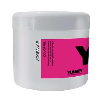 ماسک موی یانسی مدل ترمیم کننده و محافظ رنگ مو حجم 500 میلی لیتر