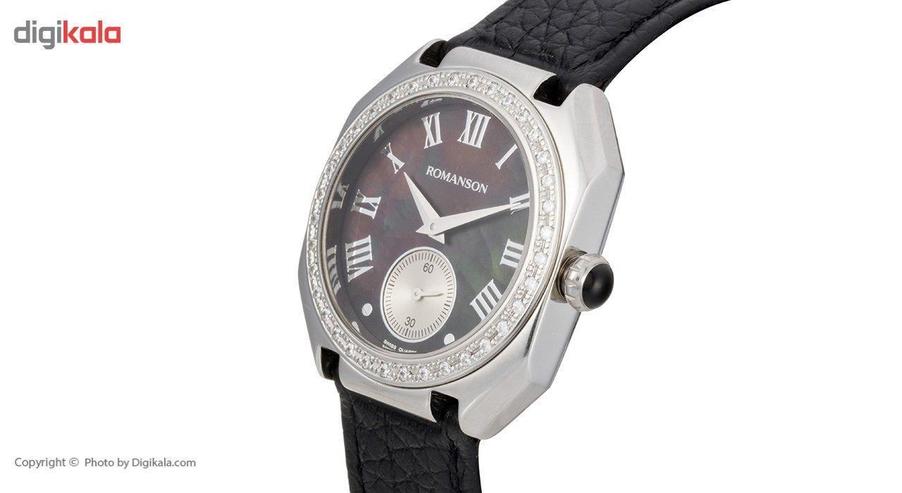 ساعت مچی عقربه ای زنانه رومانسون مدل RL1208QL1WM32W -  - 3