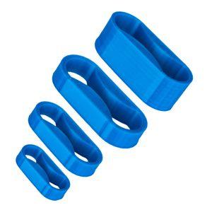 نظم دهنده کابل و سیم مدل pla 25 wide clip بسته 4 عددی