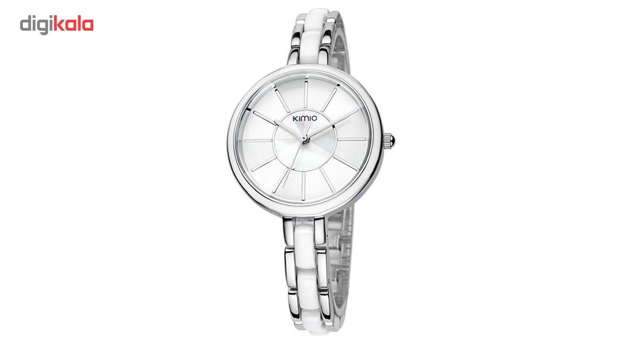 ساعت مچی عقربه ای زنانه کیمیو مدل K495M-white