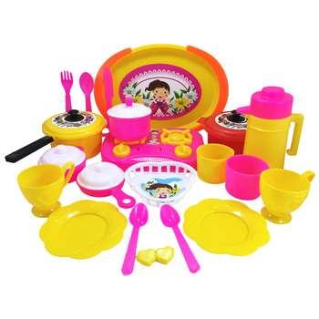 ست اسباب بازی آشپزخانه مدل سبدی کد KID 020