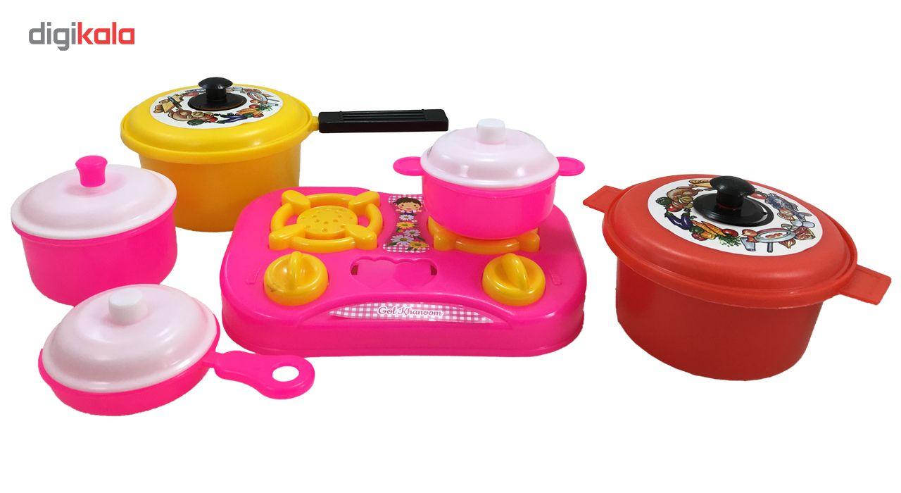 ست اسباب بازی آشپزخانه مدل سبدی کد KID 020 main 1 2