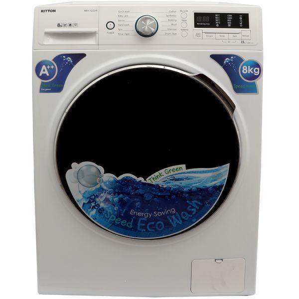 ماشین لباسشویی ریتون مدل M01-1222W با ظرفیت 8 کیلوگرم