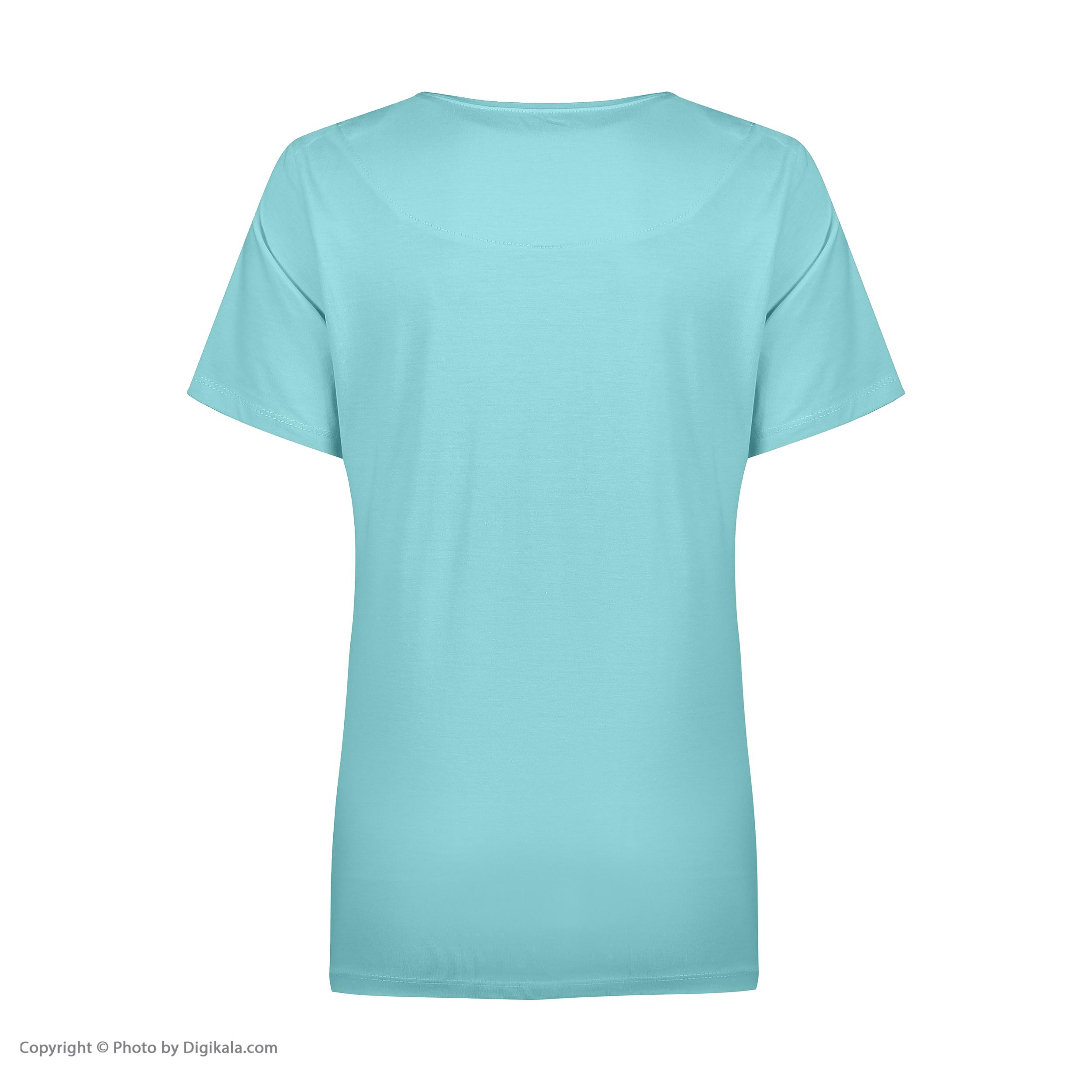ست تی شرت و شلوارک راحتی زنانه مادر مدل 2041101-54 -  - 6