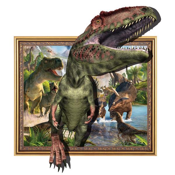 استیکر دیواری سالسو طرح دایناسور a.z