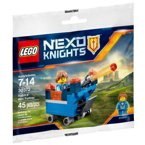 لگو سری Nexo Knights مدل Robins Mini Fortrex 30372