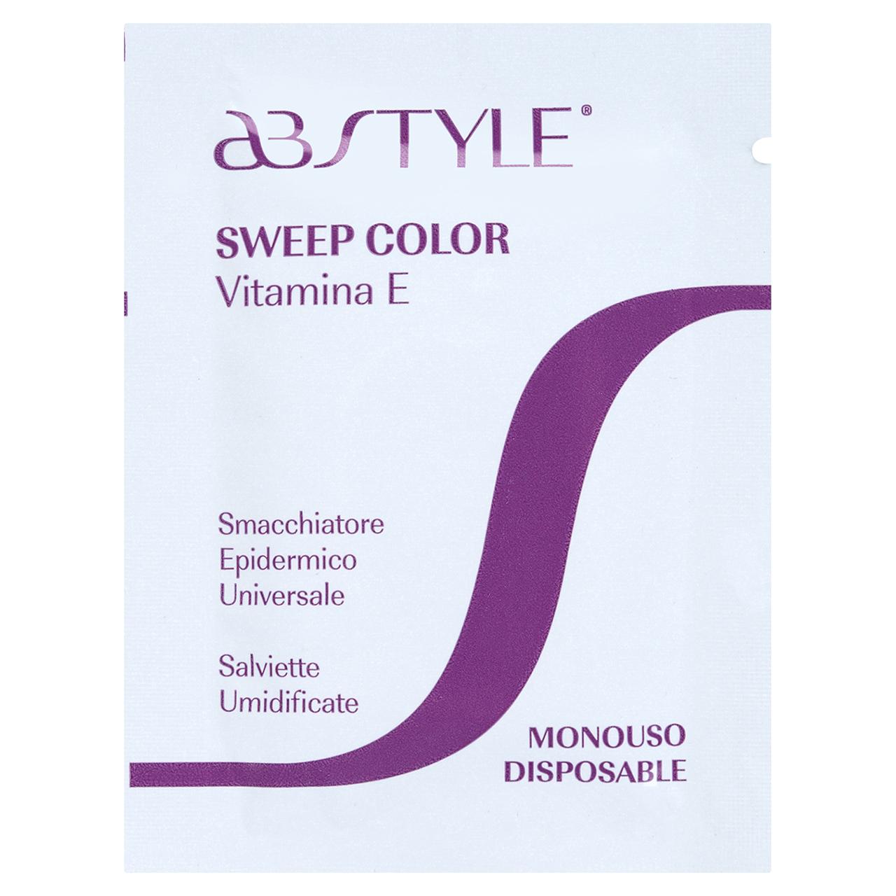 قیمت دستمال پاک کننده رنگ مو ای بی استایل مدل Vitamin E بسته 100 عددی