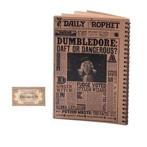 دفتر یادداشت بیگای استودیو مدل دامبلدور به همراه بوک مارک هدیه
