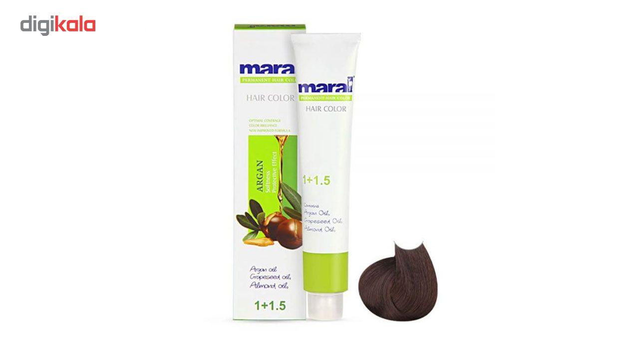 رنگ مو مارال سری طبیعی مدل قهوه ای متوسط شماره 4.0 main 1 1