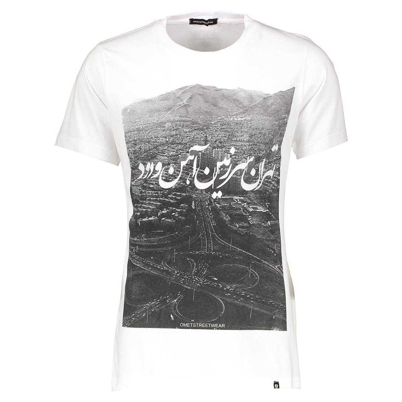 تی شرت مردانه اومت مدل Omet 206-3320