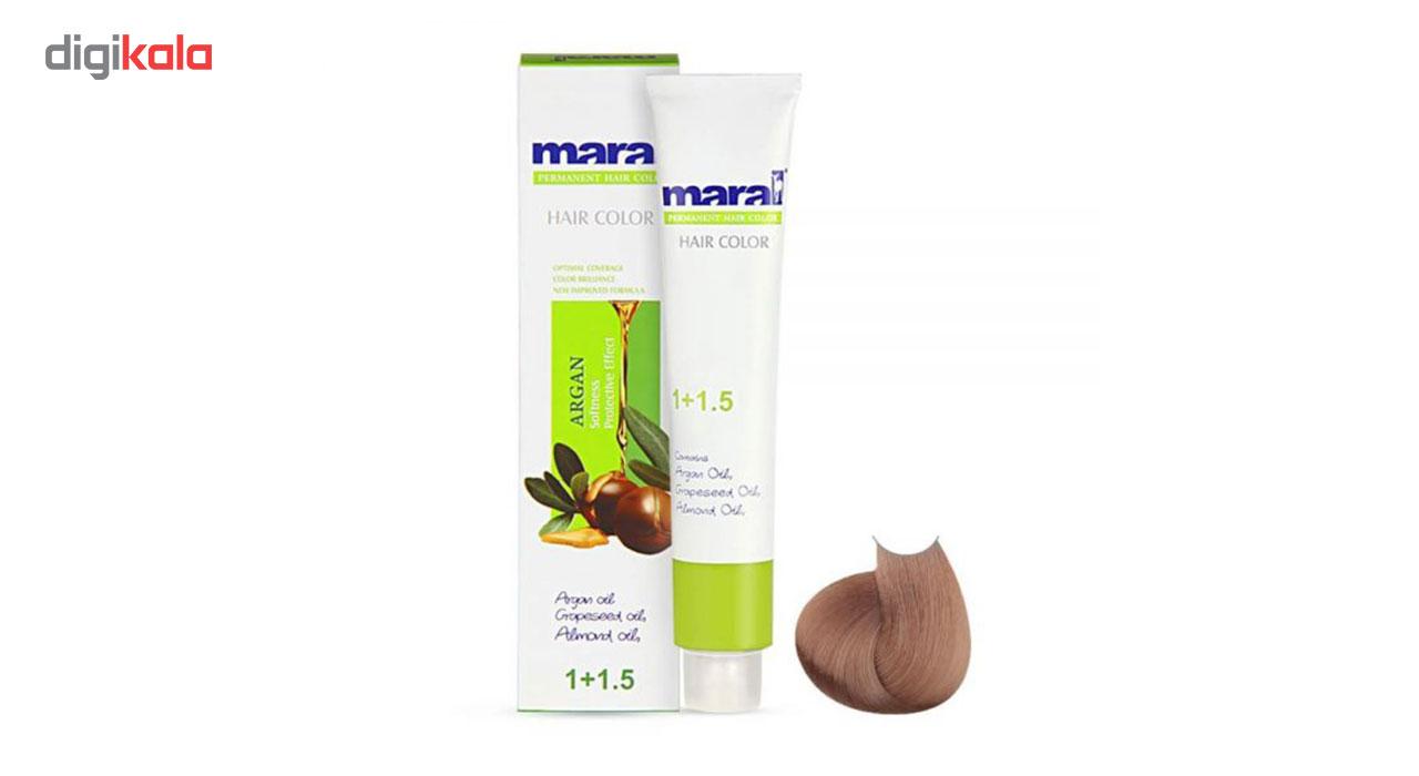 رنگ مو مارال سری طبیعی مدل بلوند متوسط شماره 7.0