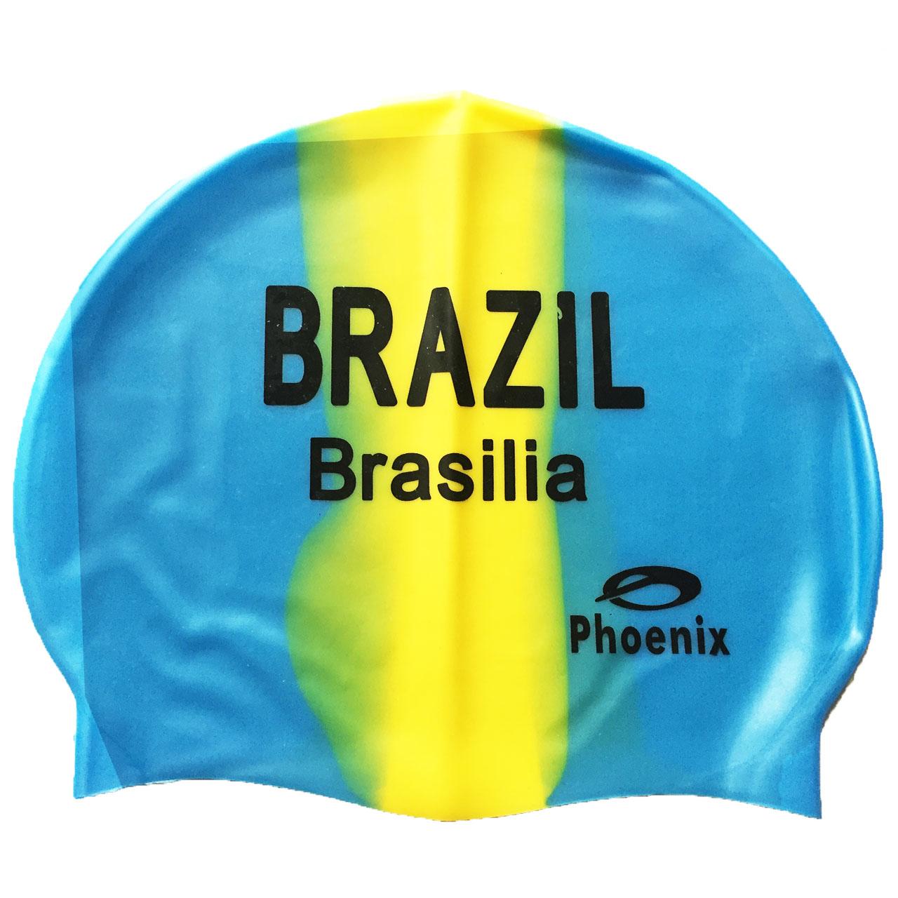 کلاه شنا فونیکس مدل Brazil