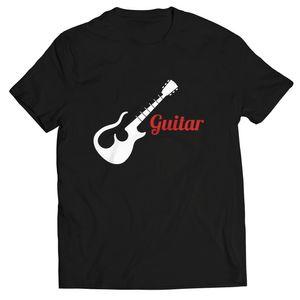 تیشرت پاتیلوک طرح گیتار مدل 330238