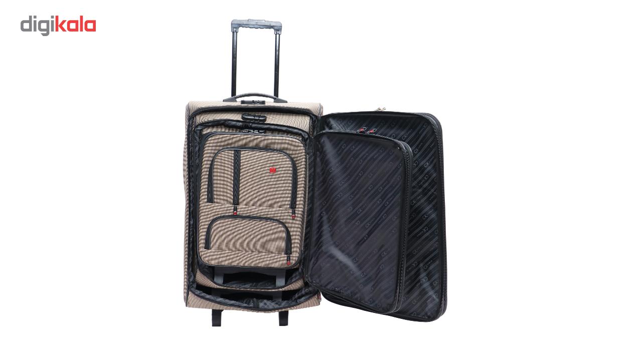 مجموعه سه عددی چمدان نوآکسیا مدل101-A