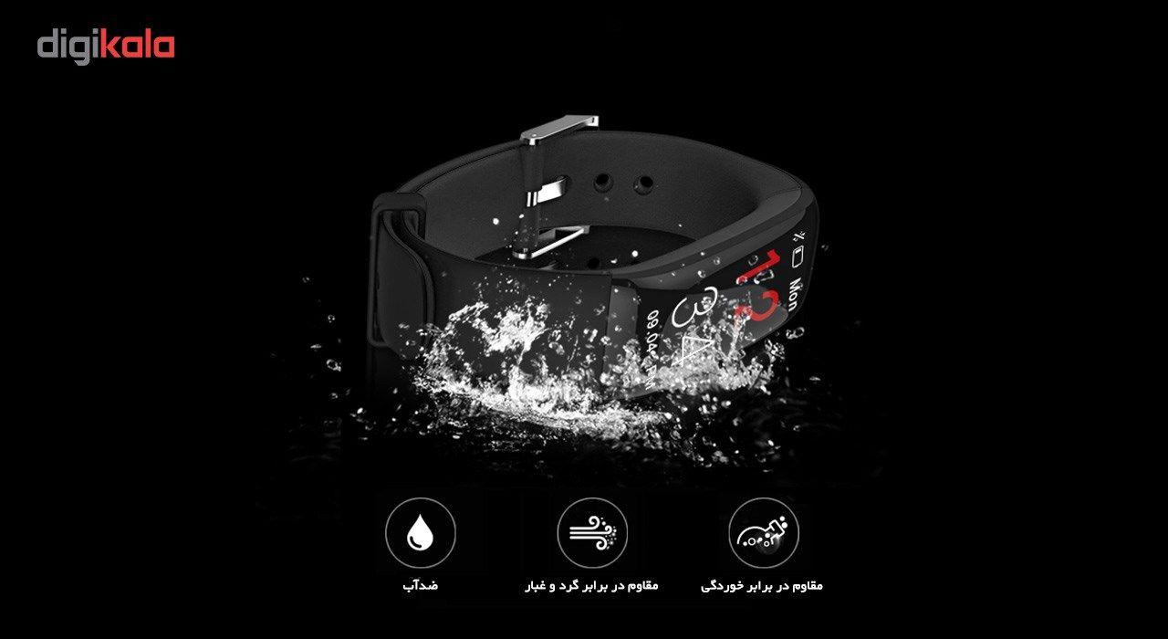 مچ بند هوشمند دابل سیکس مدل AK20 Black -  - 3