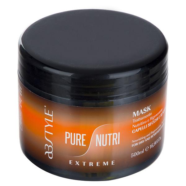 ماسک مو مغذی و آبرسان خیلی قوی  ای بی استایل مدل Pure Nutri حجم 500 میلی لیتر
