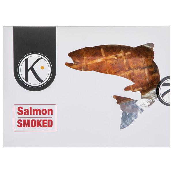 فیله سالمون دودی کیان ماهی خزر مقدار 250 گرم