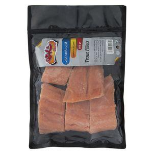 ماهی قزل سالمون ایرانی منجمد شارین مقدار 500 گرم
