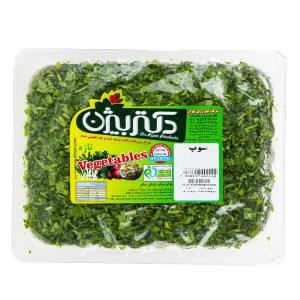 سبزی سوپ دکتر بیژن مقدار 380 گرم
