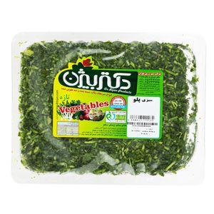 سبزی پلو دکتر بیژن مقدار 380 گرم