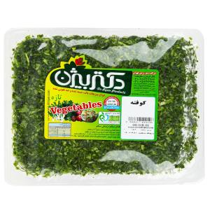 سبزی کوفته دکتر بیژن مقدار 380 گرم