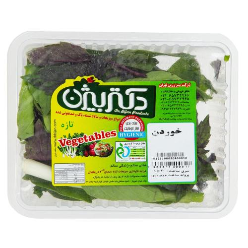 سبزی خوردن دکتر بیژن مقدار 50 گرم