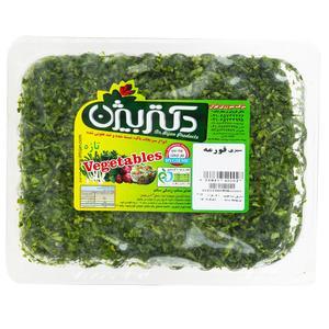سبزی قورمه دکتر بیژن مقدار 380 گرم