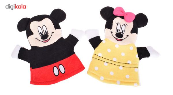 لیف حمام کودک ترانه طرح Minnie Mouse