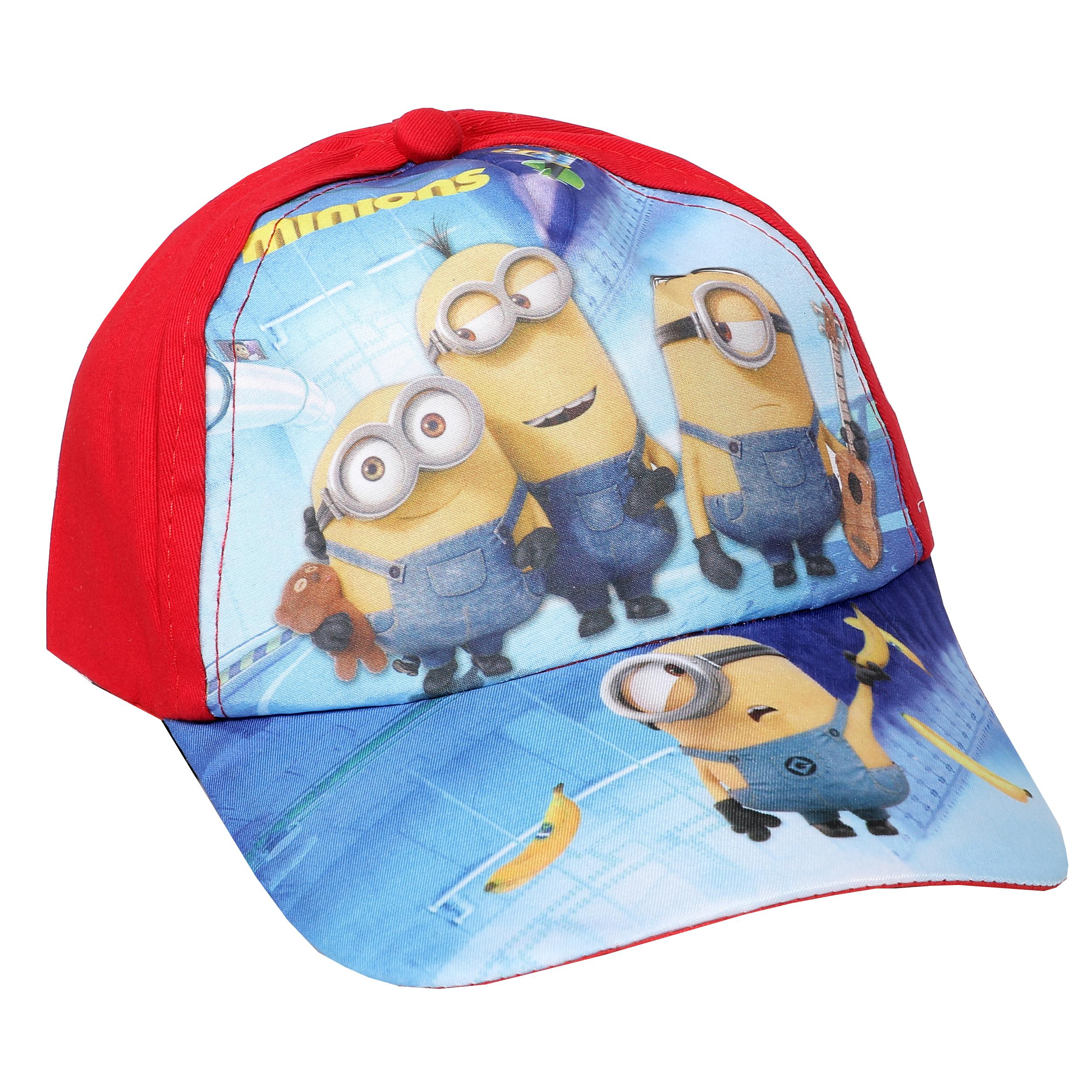 کلاه کپ پسرانه طرح مینیون مدل SS