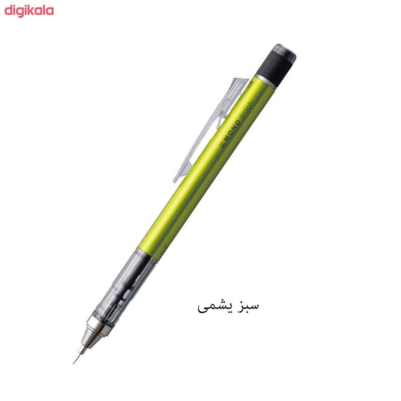 مداد نوکی 0.5 میلی متری تومبو مدل MONO GRAPPH main 1 8