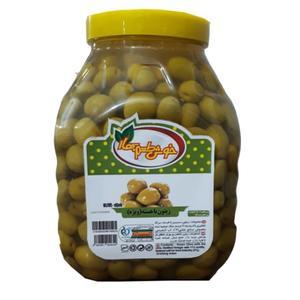 زیتون بدون هسته خوش طعم بهار - 2.5 کیلوگرمی