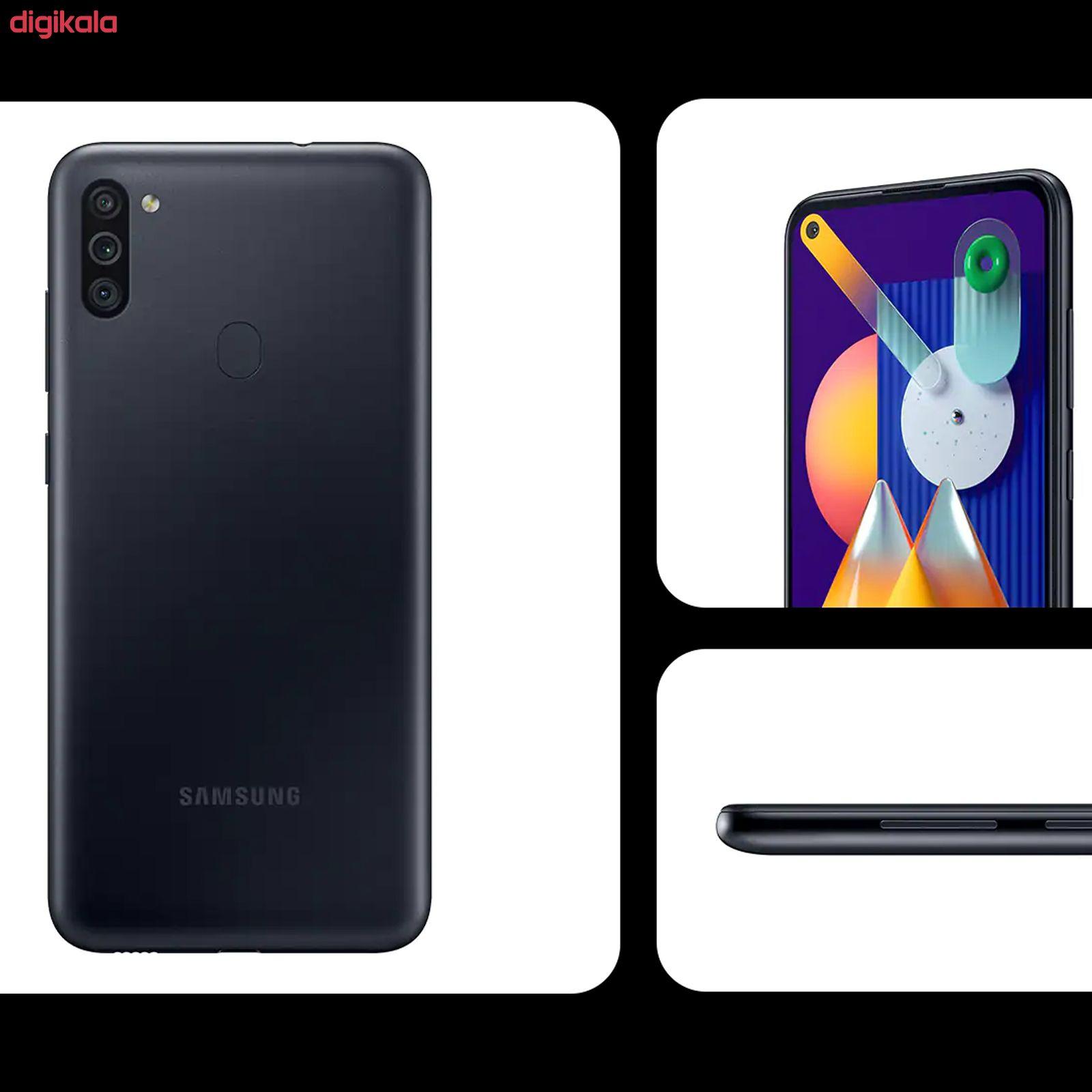 گوشی موبایل سامسونگ مدل  Galaxy M11 SM-M115F/DS دو سیم کارت ظرفیت 32 گیگابایت main 1 12