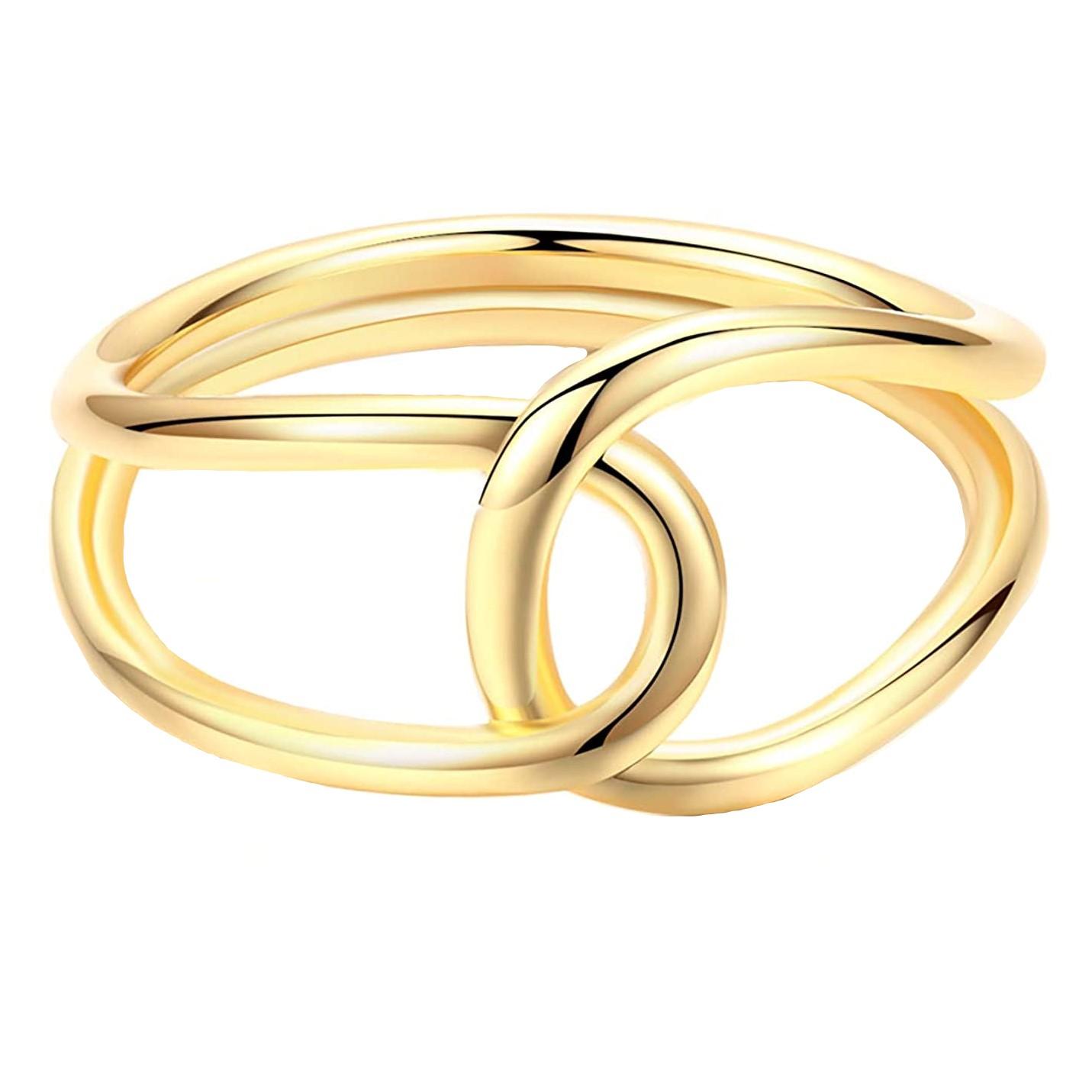 انگشتر طلا 18 عیار زنانه قیراط کد GH2087