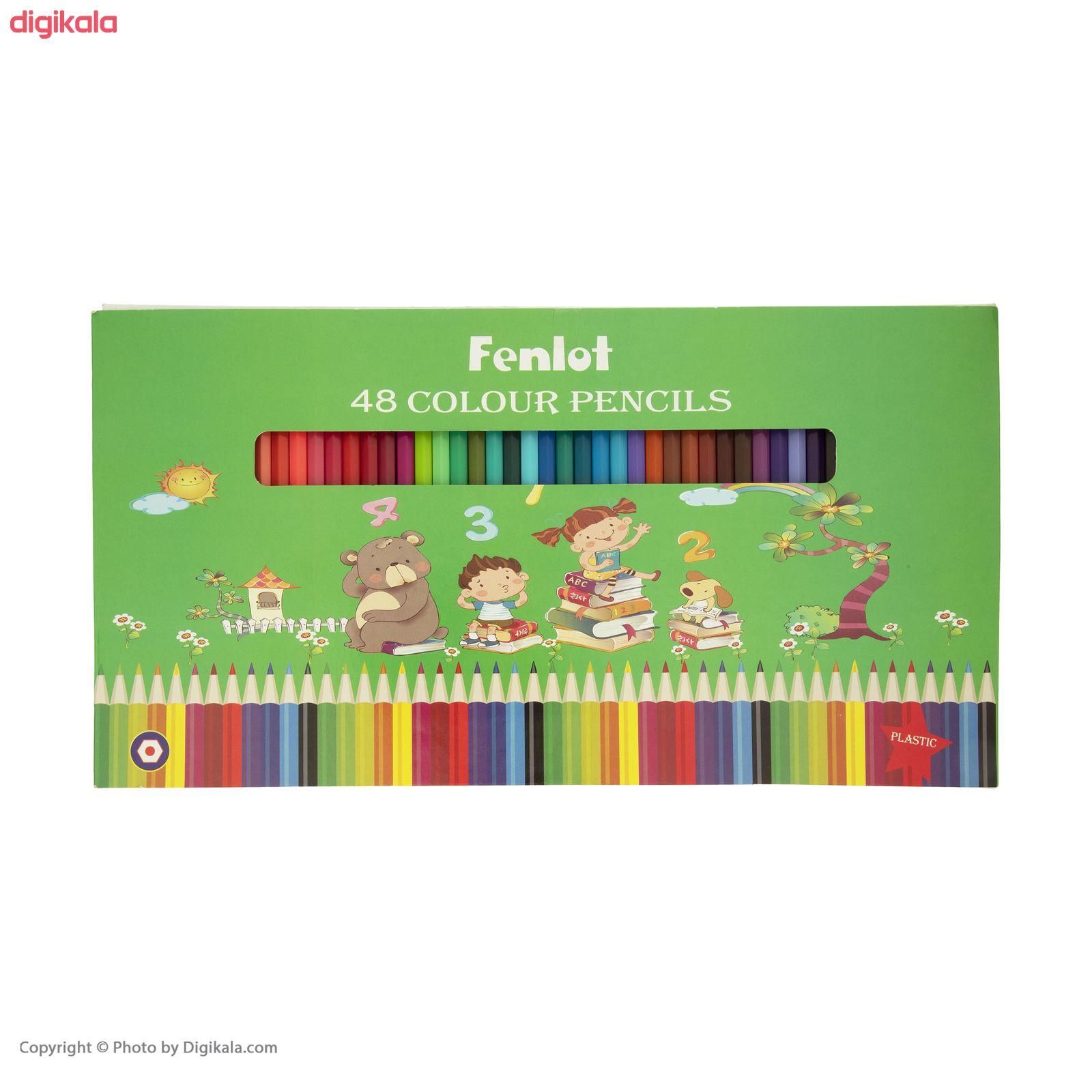 مداد رنگی 48 رنگ فنلوت مدل COLOR-48 main 1 8