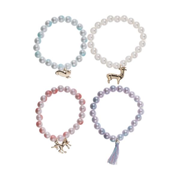 دستبند دخترانه مانسون چیلدرن مدل 5045461695506 مجموعه 4 عددی