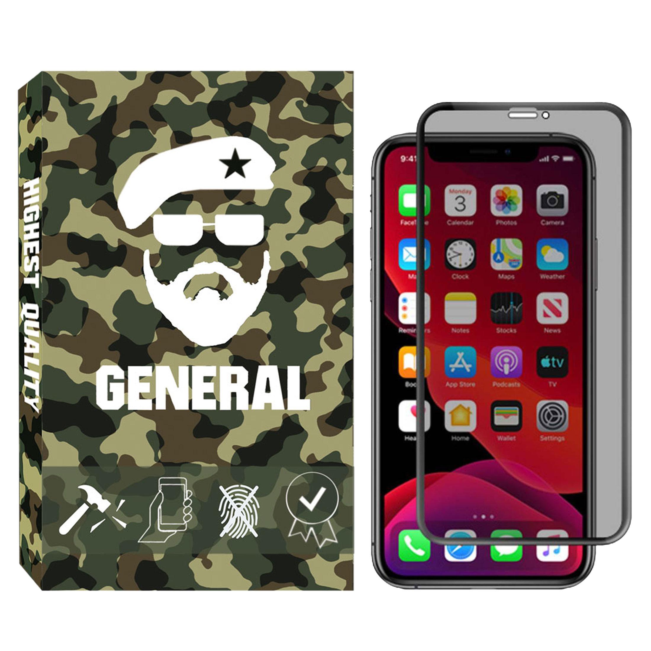 محافظ صفحه نمایش حریم شخصی ژنرال مدل GNprv-01 مناسب برای گوشی موبایل اپل IPhone X / XS thumb
