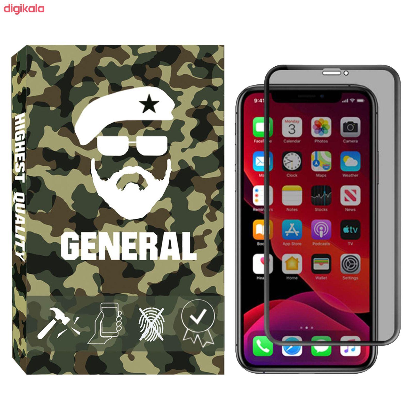 محافظ صفحه نمایش حریم شخصی ژنرال مدل GNprv-01 مناسب برای گوشی موبایل اپل IPhone X / XS main 1 1