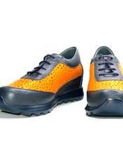 کفش روزمره زنانه آر اند دبلیو مدل 642 رنگ سرمه ای -  - 4