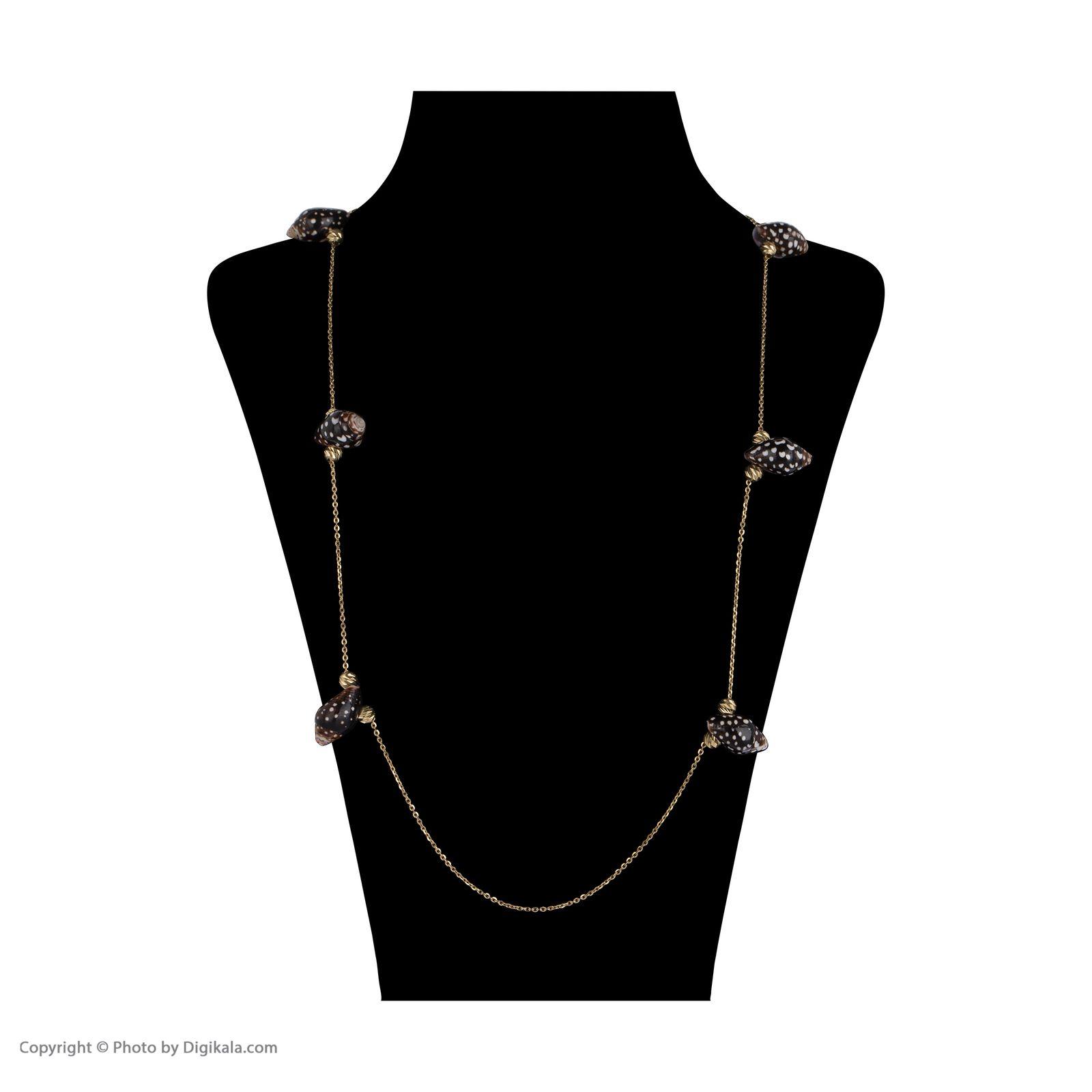 گردنبند طلا 18 عیار زنانه سیودو مدل 147638 -  - 3