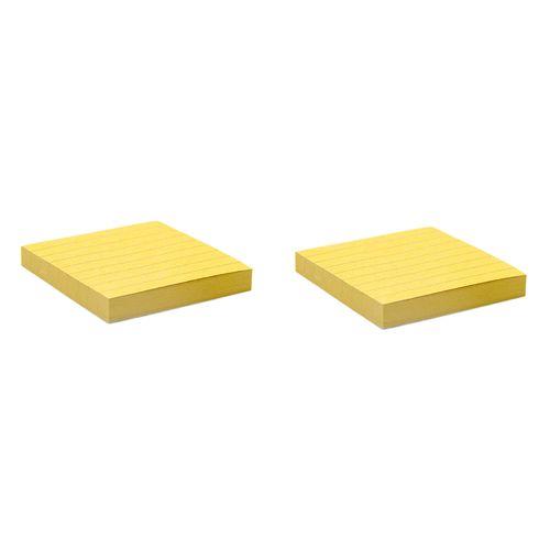 کاغذ یادداشت کرافت چسب دار فنس کد FA9215  دو بسته 100 برگی