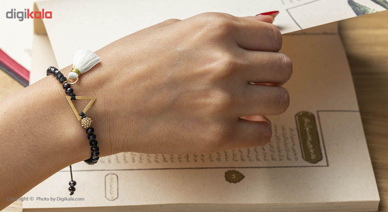 دستبند طلا 18 عیار مدل AN005 سوفیا