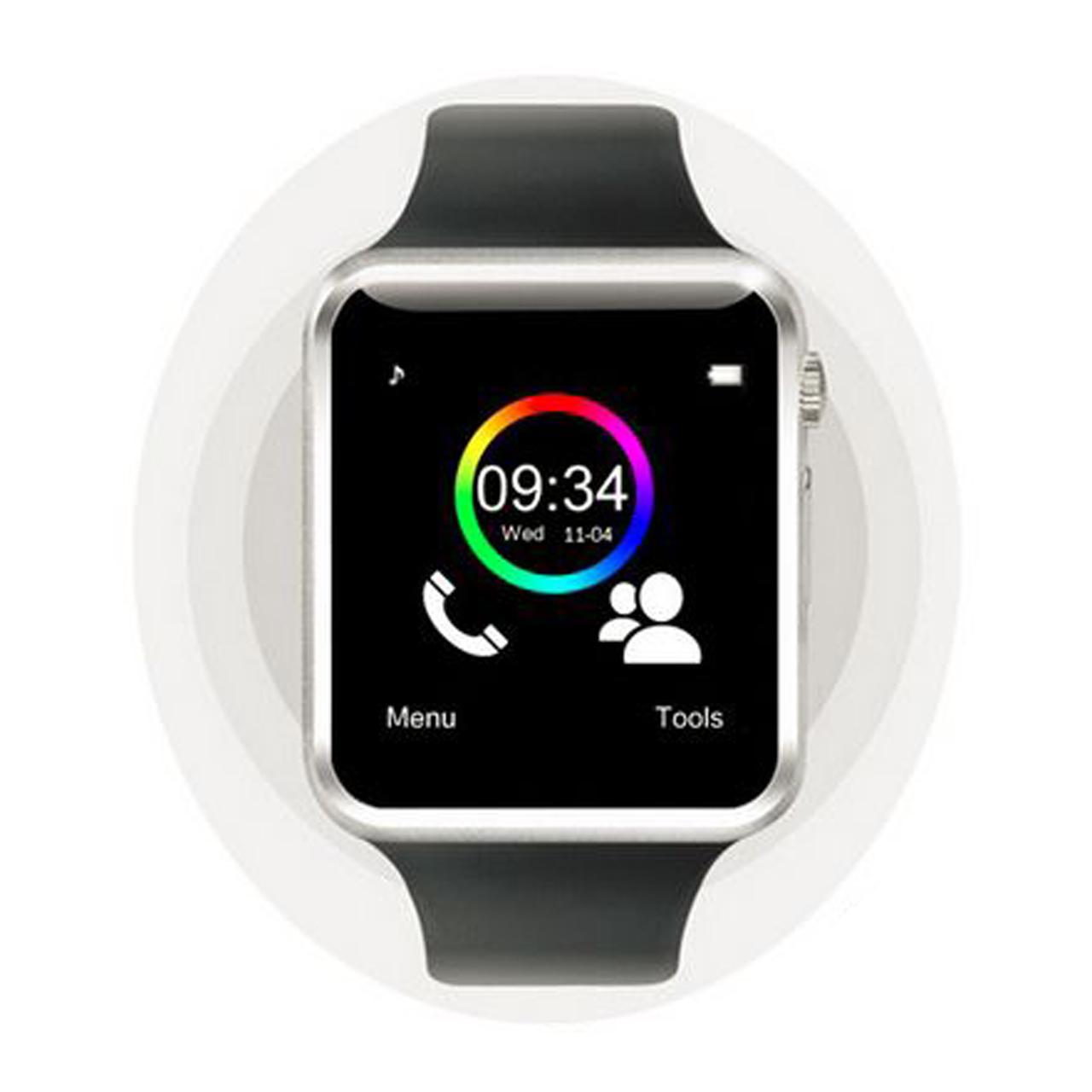 خرید ساعت هوشمند مدل A1 همراه هدفن بی سیم مدل I7