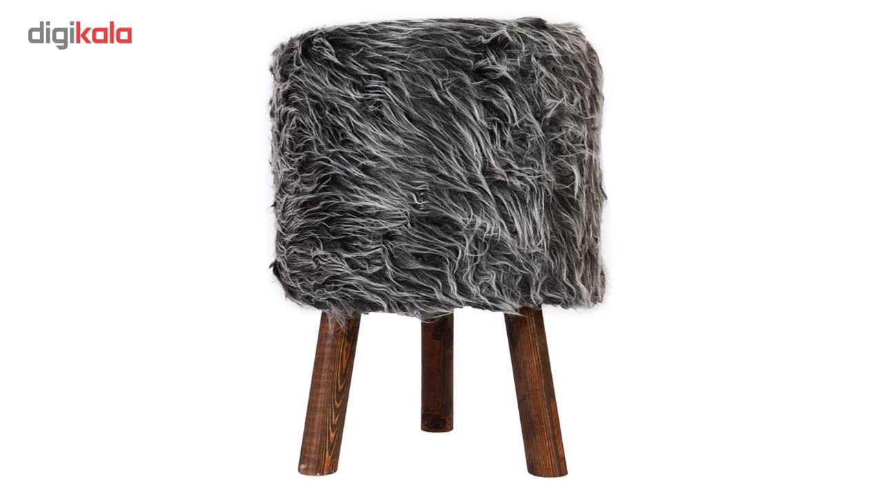 مبل پاف شایگان مدل پشمی
